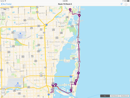 miami-dade transit tracker on the app store