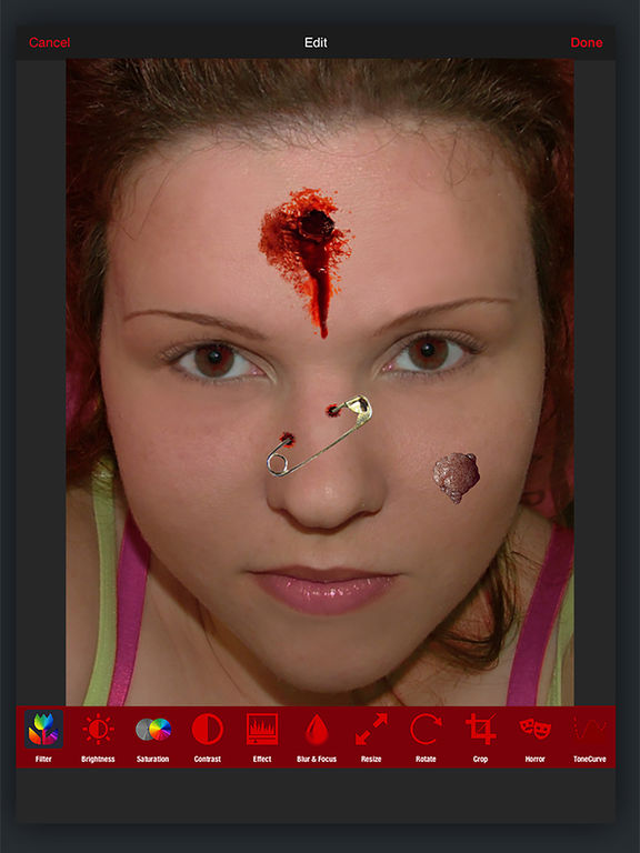 Horror PHOTOLAB Gold screenshot 6