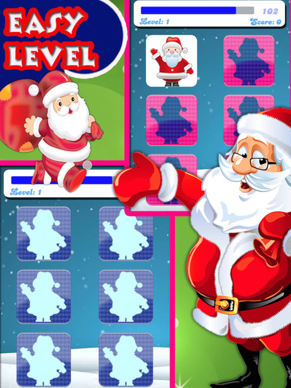Christmas Matching Pairs - Santa Slaus and Xmas screenshot 9