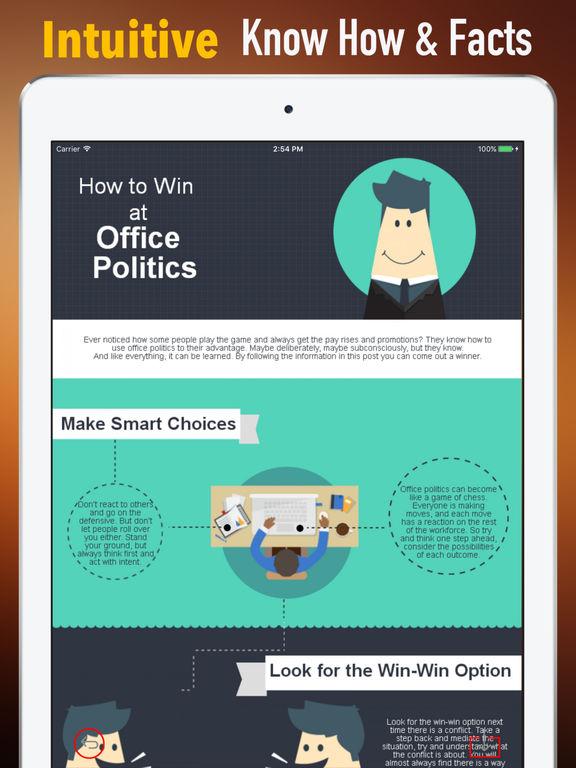 Office Politics Guide-HBR Strategic Tips screenshot 6