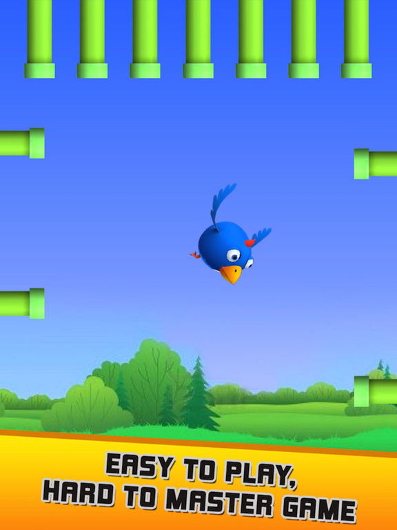 Hasty Bird - A Bird Flying Game screenshot 8