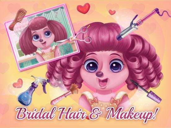 Puppy Love Wedding Day - Makeup, Hair, & Dress Up screenshot 6