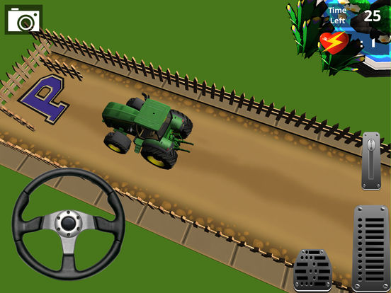 Classic Farm Tractor Simulator : Simple 3D Parking screenshot 6