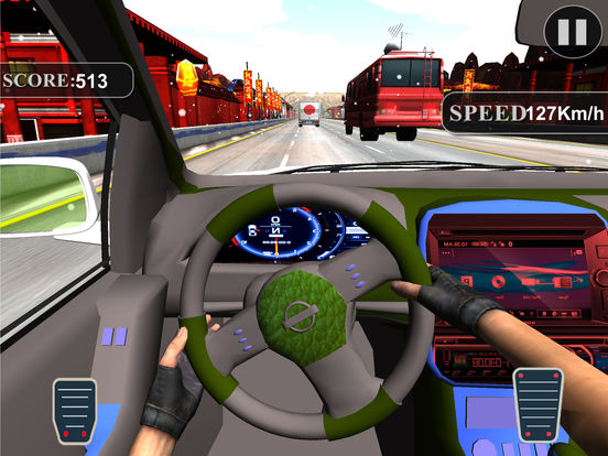 Asphalt Race in Car : A Dashboard view Drive 2017 screenshot 6