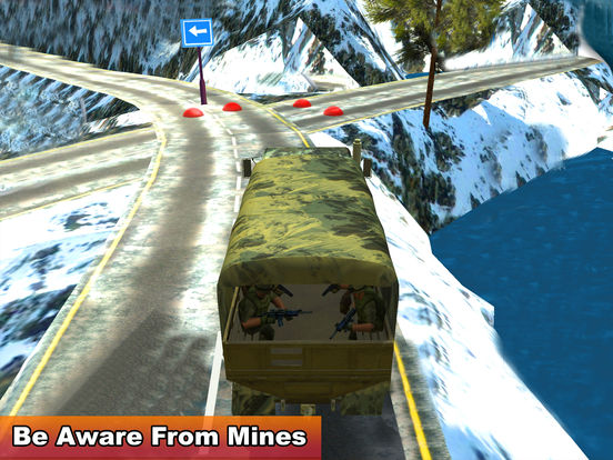 Military Soldier Truck Drive screenshot 8