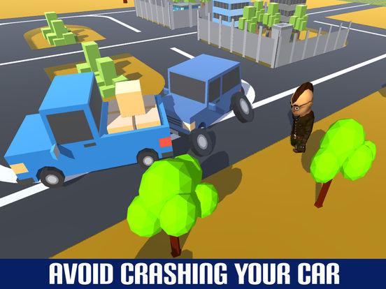 Crazy Circuit Drive Loop Car - Cartoon Crash Taxi screenshot 9