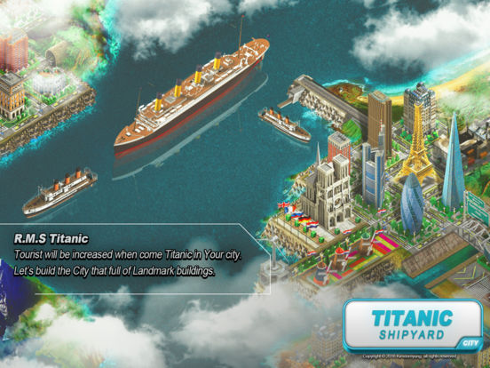 Titanic Shipyard screenshot 5