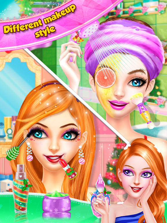 Christmas Girls Spa Salon screenshot 7