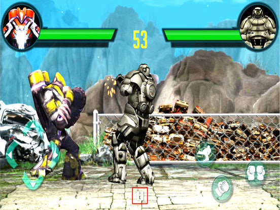 Futuristic Robot Boxing : 3D Street Fighter Club screenshot 7
