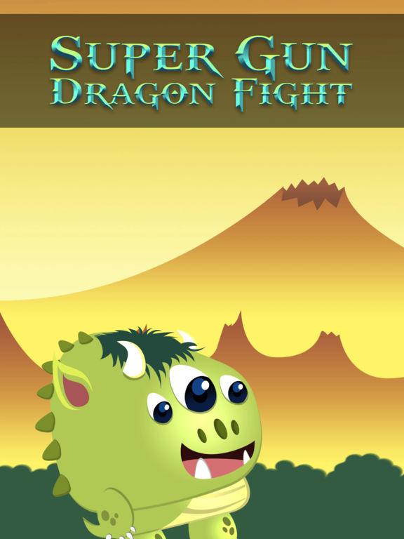Super Gun Dragon Fight - cool cannon shooter screenshot 4