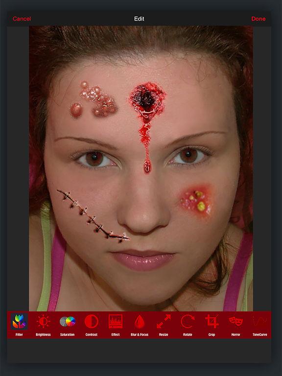 Horror PHOTOLAB Gold screenshot 9