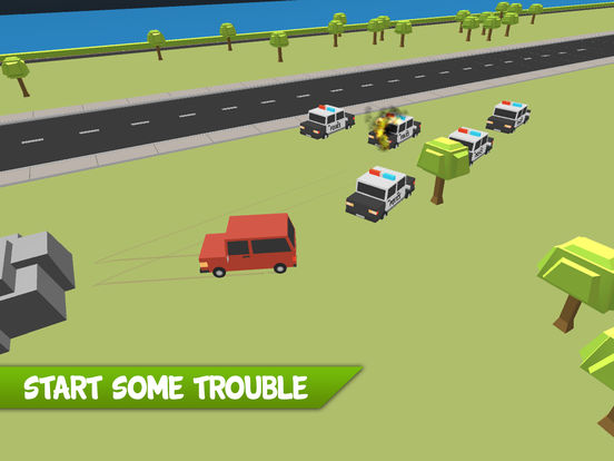 Police Offroad Escape Chase screenshot 7