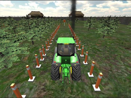 Farming Tractor Parking Driver screenshot 9