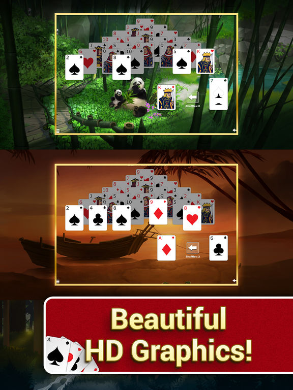 Pyramid Solitaire with Themes screenshot 7