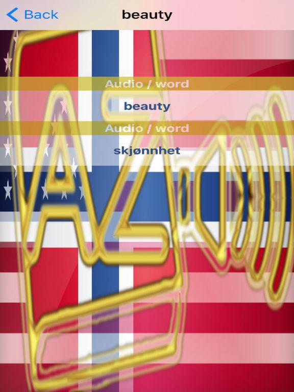 Norwegian Dictionary GoldEdition screenshot 10