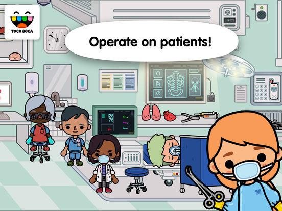 Toca Life: Hospital screenshot 6