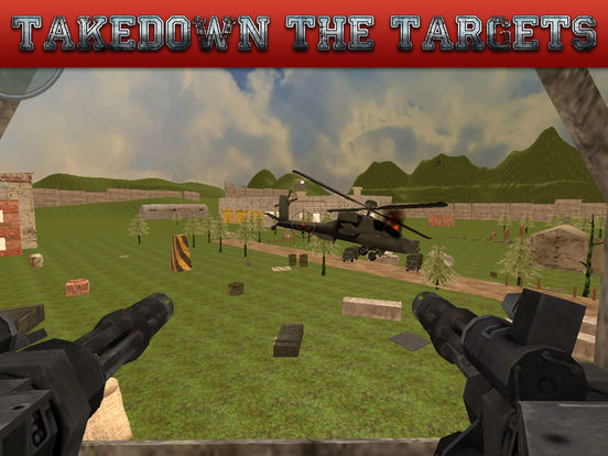 Gunship Rescue Force Battle Helicopter Attack Game screenshot 7