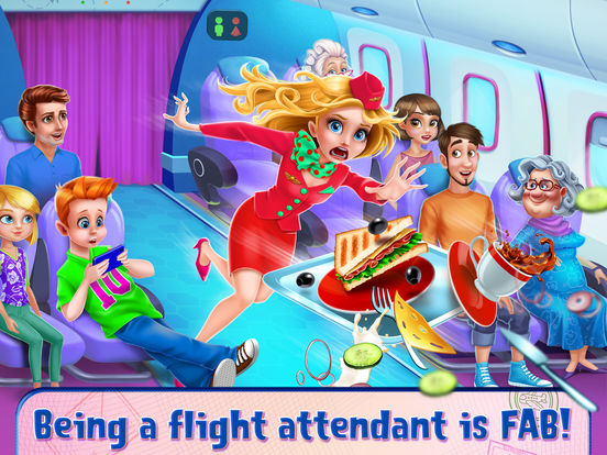 Sky Girls: Flight Attendants screenshot 6