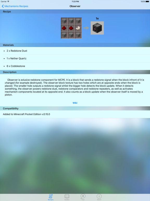 Pocket Guide for Minecraft Pocket Edition | Apps | 148Apps