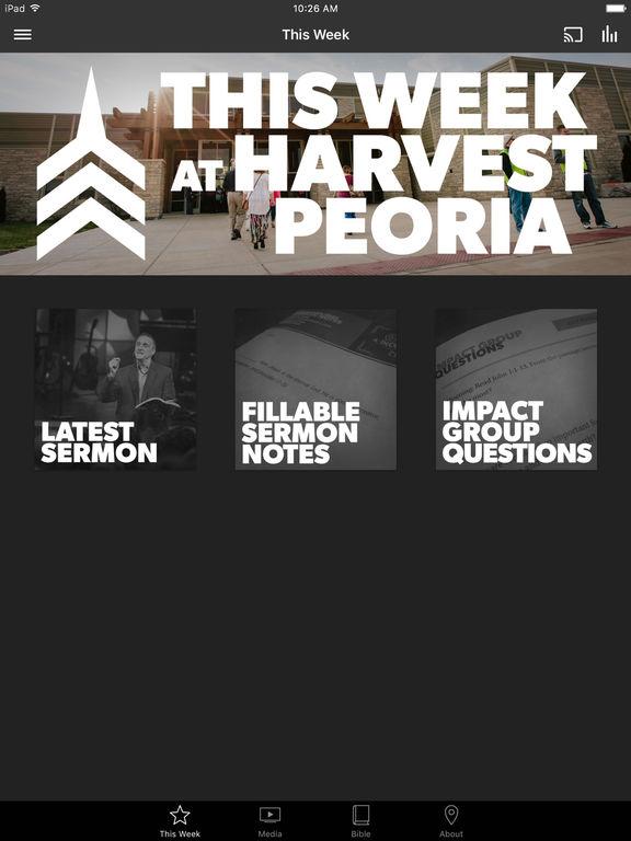 Harvest Bible Chapel Peoria screenshot 4