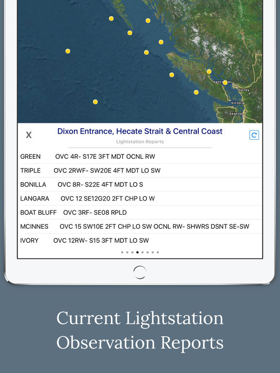 Canada Marine Weather Forecast screenshot 8