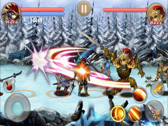 RPG-Shadow Sword. screenshot 6
