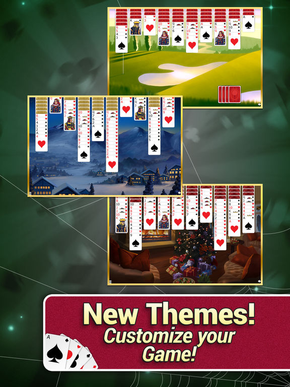 Spider Solitaire with Themes screenshot 9