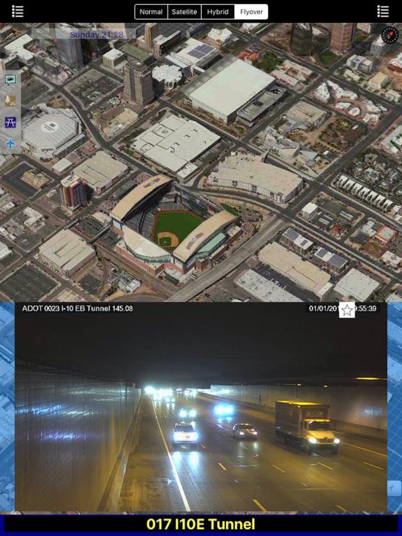 Arizona NOAA Radar with Traffic Camera 3D Pro screenshot 5