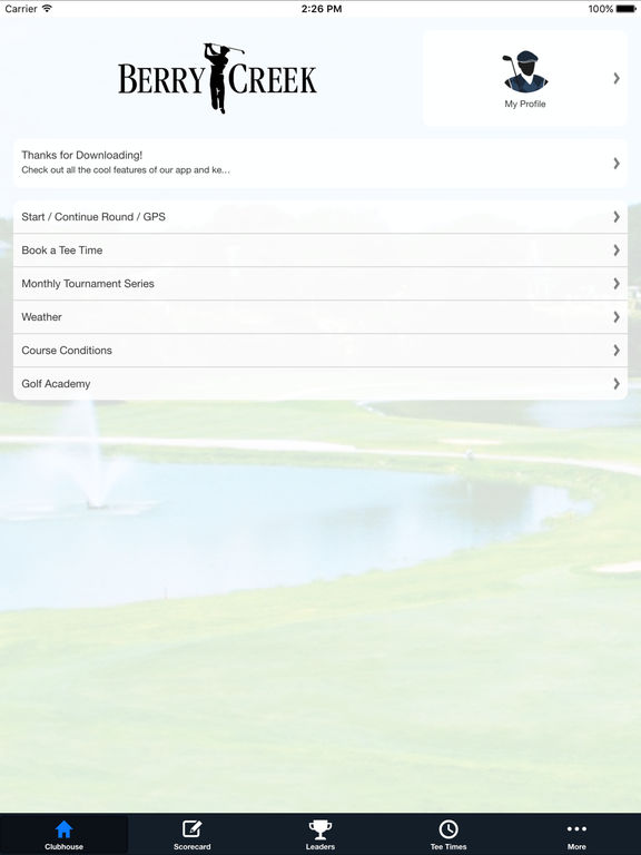 Berry Creek CC screenshot 7