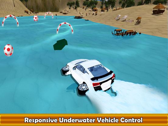 Water Surfing Car Racer screenshot 6