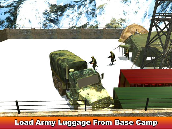 Military Soldier Truck Drive screenshot 5