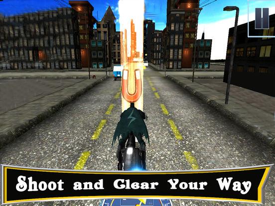 3D Highway Bat Racer : A Kids Super Hero Rider screenshot 6
