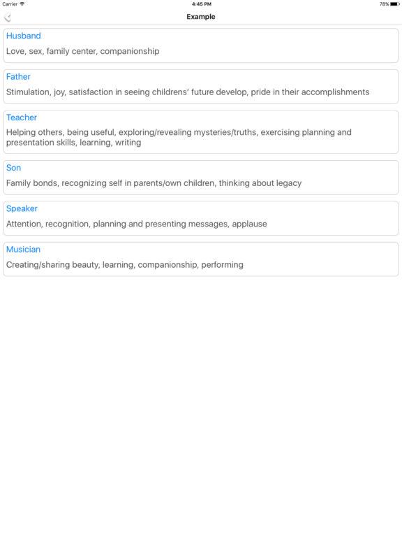 My Value - Build value model screenshot 8