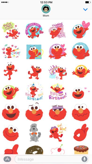 Elmo Stickers screenshot 1
