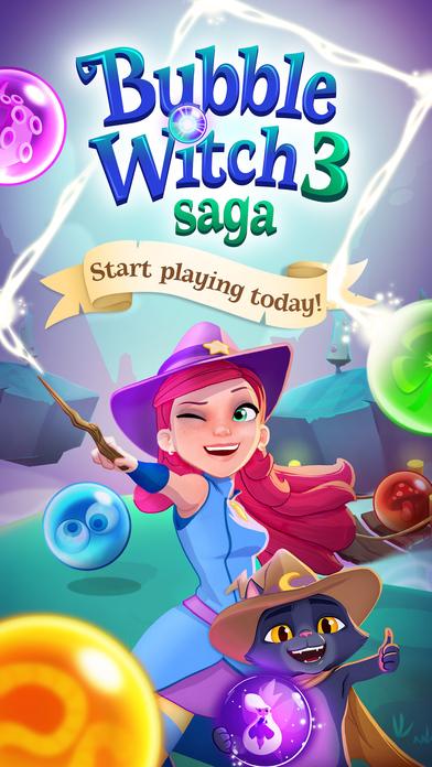 Bubble Witch 3 Saga screenshot #5