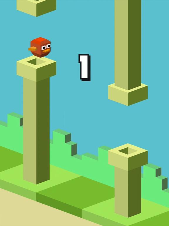 Balloon Bird Game Watch&Phone screenshot 5