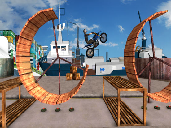 Tricky Bike Trail Stunt : Real Crazy Ride-r 2017 screenshot 4