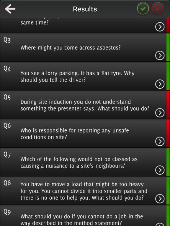 CSCS Card Test - Great for CITB Exam screenshot 9