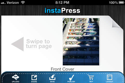 instaPress - Easy book creator - náhled