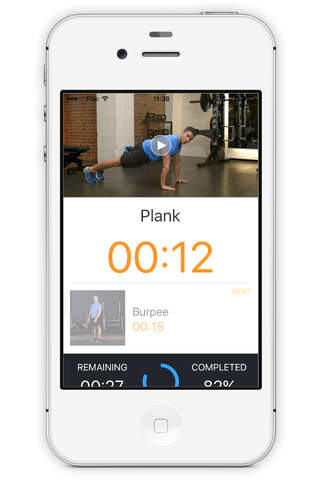 The Source Fitness App - náhled