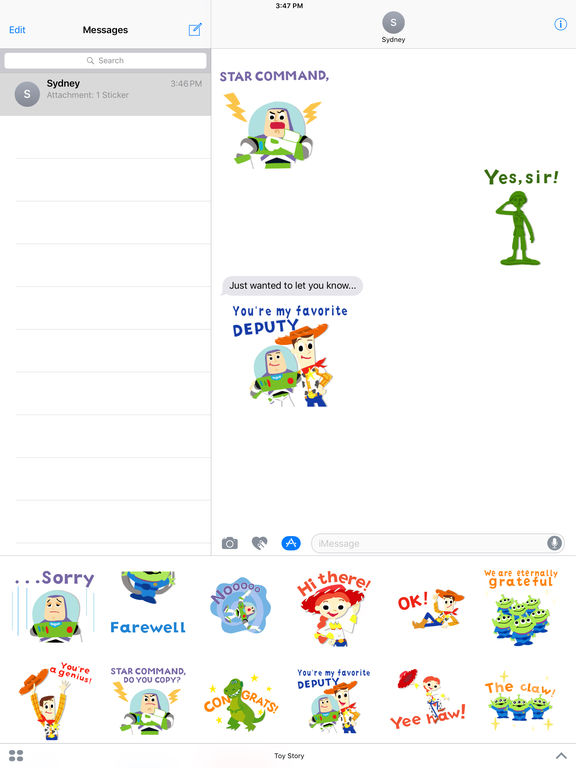 Pixar Stickers: Toy Story screenshot 9