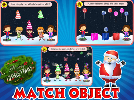 Christmas Holiday Education Fun for Toddler&Pre-k screenshot 7