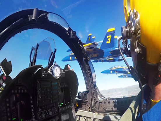 VR Blue Angels with Google Cardboard Edition 360 screenshot 5