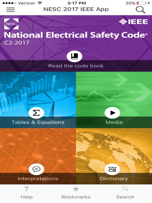 NESC 2017 IEEE App screenshot 6