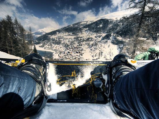 VR Ski & Snowboard Extreme with Google Cardboard screenshot 6