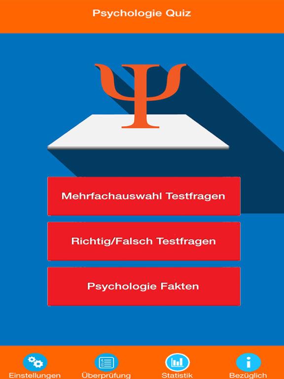Die Psychologie Quiz screenshot 6