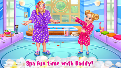 Crazy Spa Day with Daddy screenshot 1