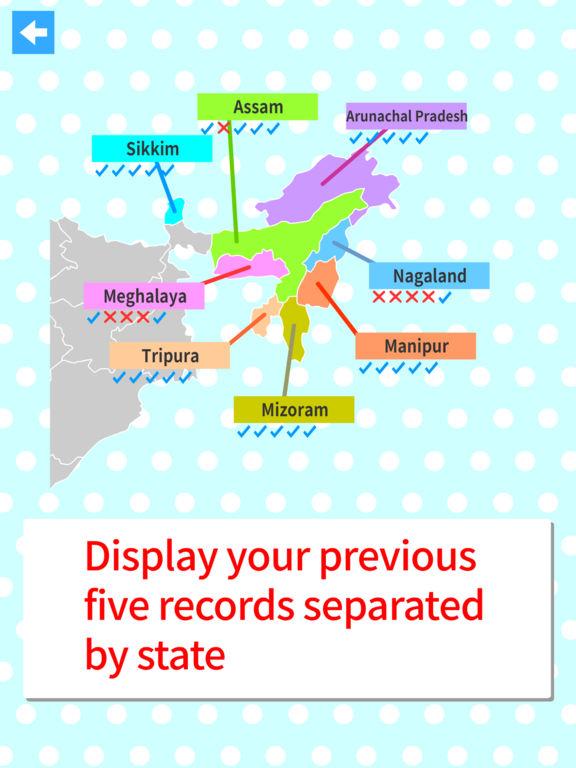 India States & Capitals Map Quiz (iPad) reviews at iPad ...
