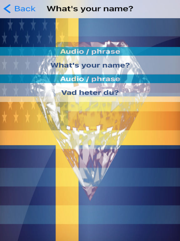 Swedish Phrases Diamond 4K Edition screenshot 6