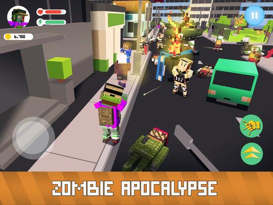 Blocky Zombie Simulator Full screenshot 6